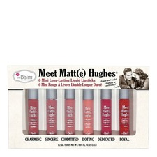 Meet Matte Hughes 6 Mini Long Lasting Liquid Lipstick