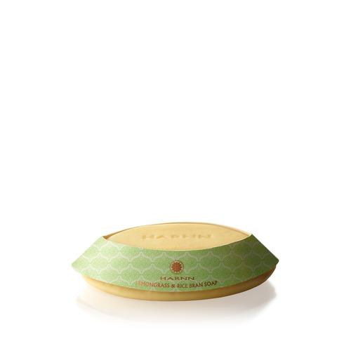 Closeup   harnn soaps lemongrass ricebransoap