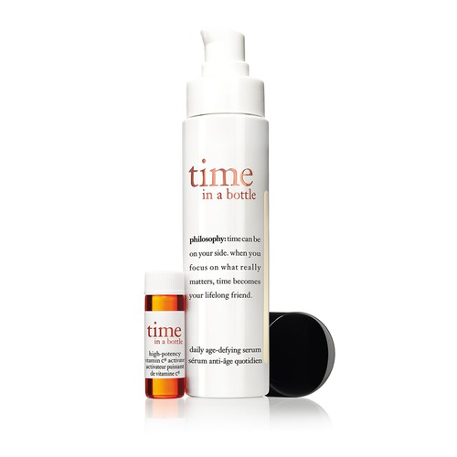 Closeup   philosophy  time in a bottle daily age defying serum web th