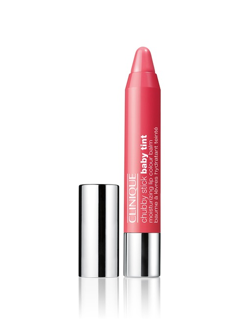 Closeup   chubby stick baby tint moisturizing lip colour balm   coming up rosy web th